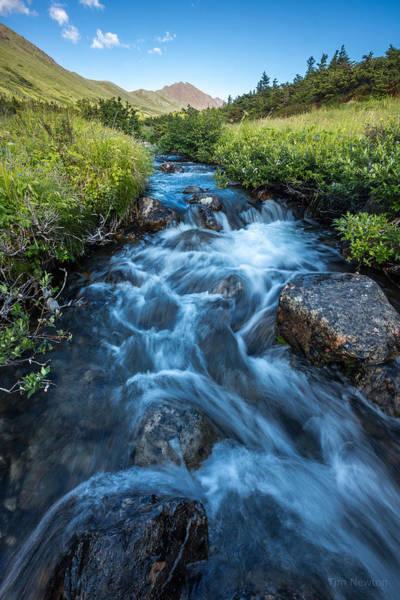 Photograph - Mt. Elliott by Tim Newton