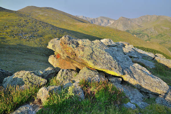 Photograph - Mt. Evans From Mt. Evans Highway by Ray Mathis