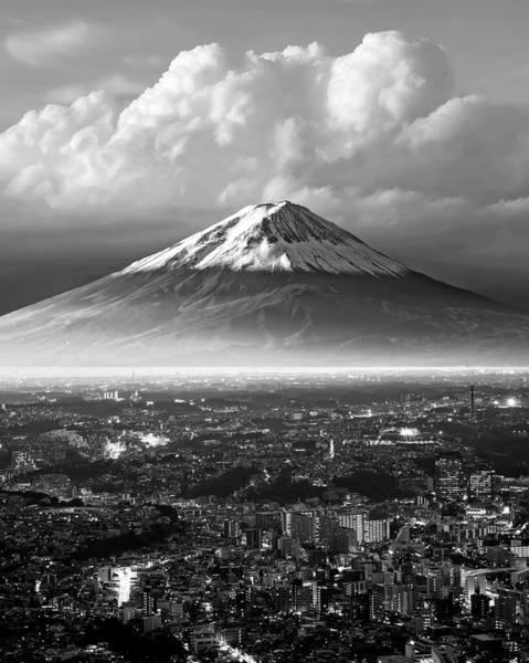 Wall Art - Photograph - Mt. Fuji Urban by Daniel Hagerman