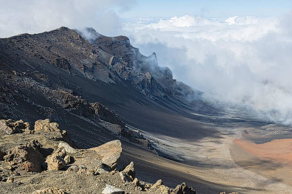 Photograph - Mt. Haleakala Crater by Jim Thompson