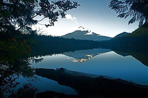 Photograph - Mt. Hood Dawn Reflection by Todd Kreuter