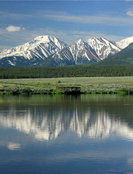 Photograph - D10463-mt. Hope Reflect  by Ed  Cooper Photography