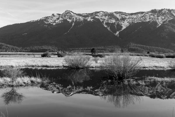 Photograph - Mt. Hough Reflection by Jan Davies
