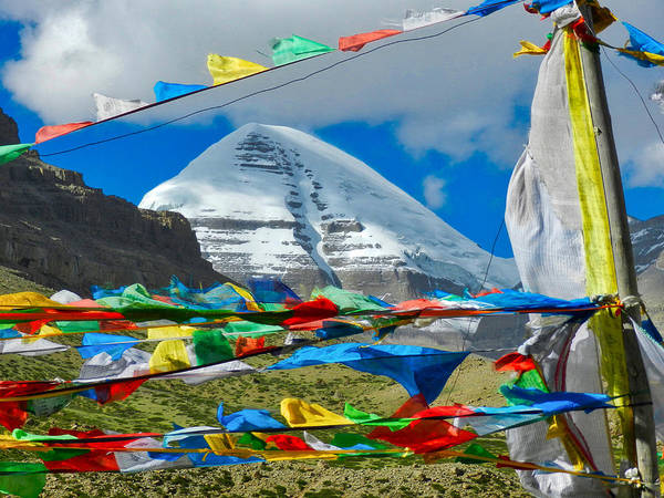 Kora Wall Art - Photograph - Mt Kailash by Jane Selverstone