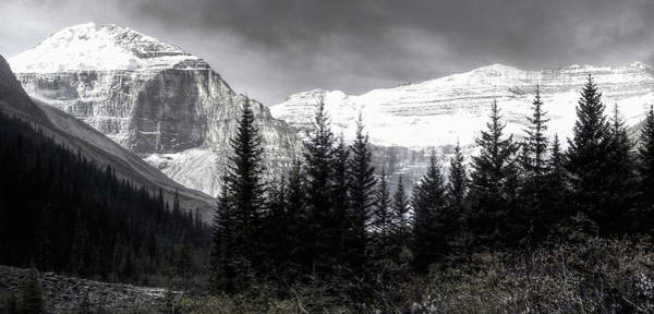 Wall Art - Photograph - Mt. Lefroy And Victoria - Lake Louise - Canada by Daniel Hagerman