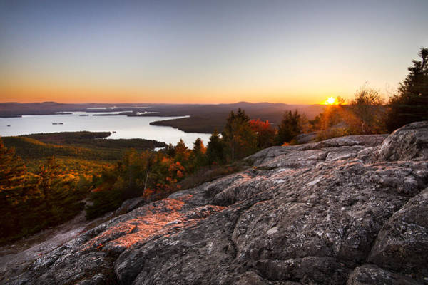 Photograph - Mt. Major Summit by Robert Clifford