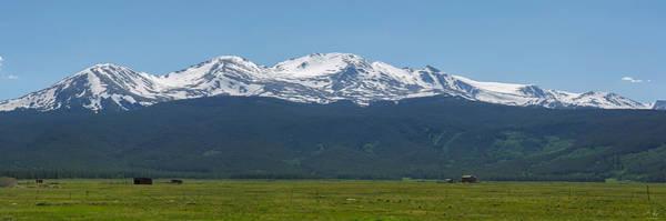 Fourteener Photograph - Mt. Massive - Spring by Aaron Spong