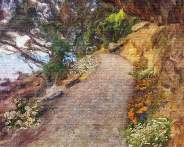 Mt. Maunganui Base Walk Art Print