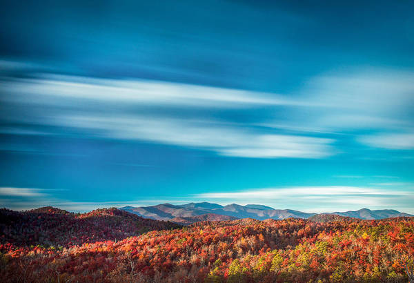 Photograph - Mt. Mitchell Long Exposure by Joye Ardyn Durham