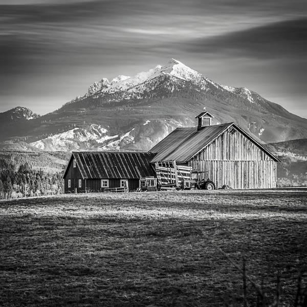 Wall Art - Photograph - Mt Pilchuck by Tony Locke