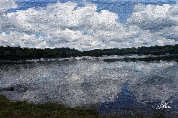Painting - Mt. Pocono Landscape by Joan Reese