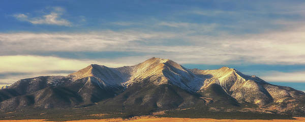 Fourteener Photograph - Mt. Princeton by Luis A Ramirez