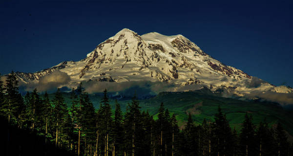 Photograph - Mt Rainier by Jason Brooks