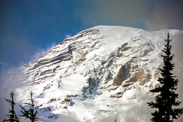 Photograph - Mt Rainier Summit by Greg Reed