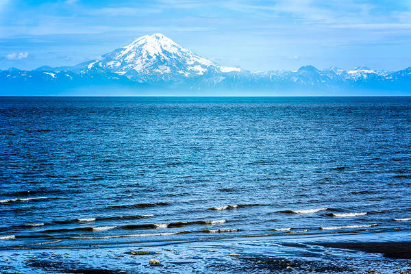 Photograph - Mt. Redoubt Cooke Inlet by Claudia Abbott