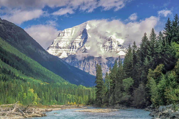 Photograph - Mt. Robson 2005 01 by Jim Dollar