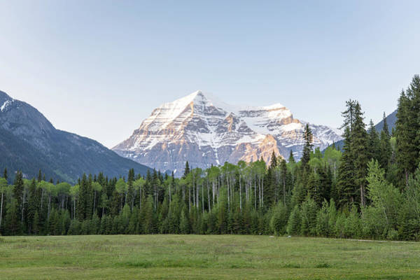 Photograph - Mt. Robson by M C Hood