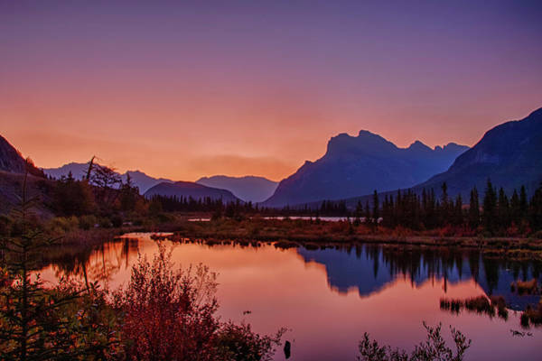 Photograph - Mt. Rundle 11 by Jim Dollar