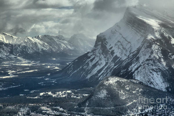 Photograph - Mt. Rundle And The Canadian Rockies by Adam Jewell