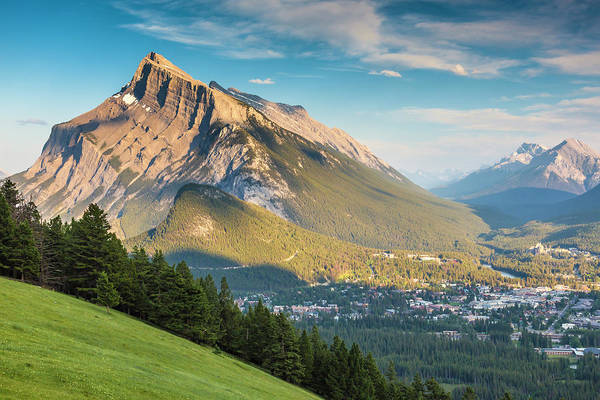 Photograph - Mt. Rundle by Mark Mille