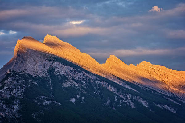 Photograph - Mt Rundle Sunset Banff by Joan Carroll