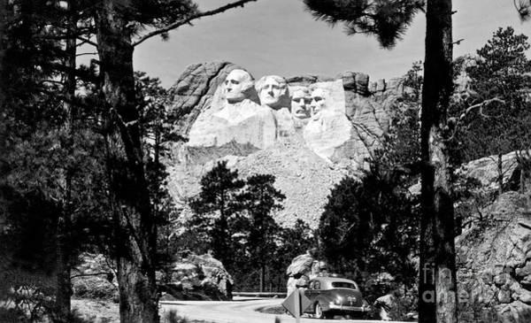 Rushmore Photograph - Mt Rushmore by American School
