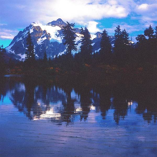 Photograph - Mt. Shuksan - Picture Lake by Todd Kreuter