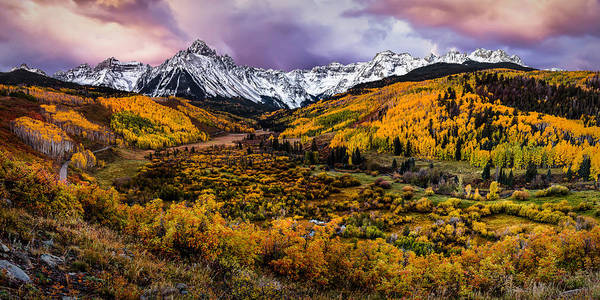 Photograph - Mt. Sneffels Fall Colors by Ryan Smith