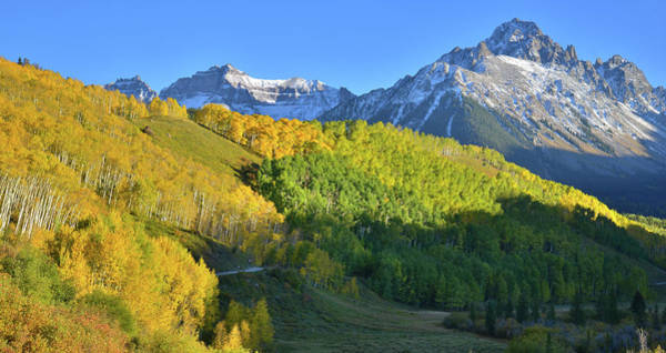 Photograph - Mt. Sneffels From County Road 7 by Ray Mathis