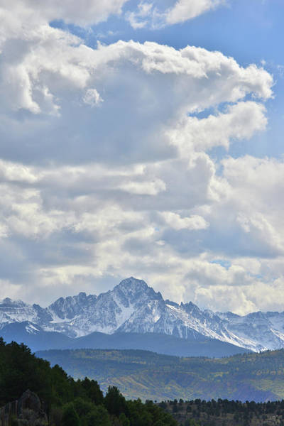 Photograph - Mt. Sneffels by Ray Mathis
