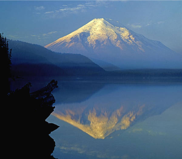 Photograph - 1m4907-h-mt. St. Helens Reflect H  by Ed  Cooper Photography