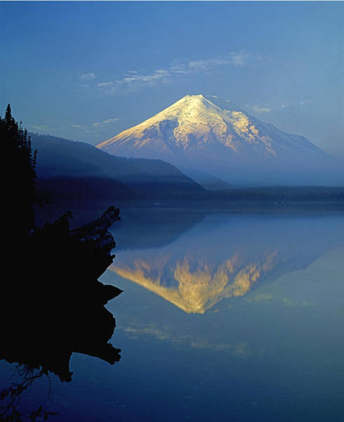 1m4907-v-mt. St. Helens Reflect V  Art Print