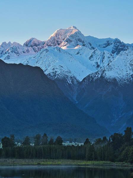 Photograph - Mt Tasman 2 - New Zealand by Steven Ralser