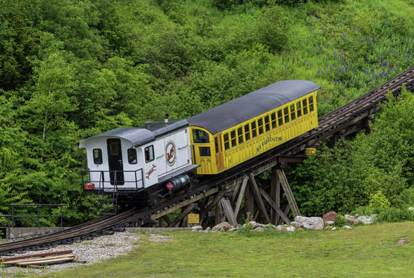 Photograph - Mt Washington Cog Railway Metallak by Brian MacLean