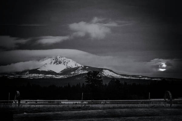 Wall Art - Photograph - Mt. Washington Moonset by Cat Connor