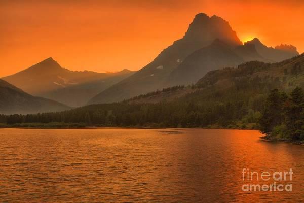 Mt. Adams Photograph - Mt Wilbur Sunset by Adam Jewell