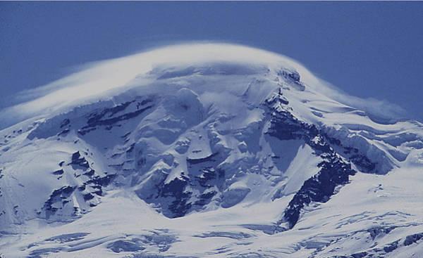 Photograph - Mt201cloudcap Over Mt. Baker Wa by Ed Cooper Photography