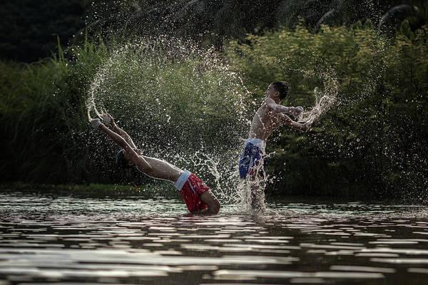 Kickboxing Photograph - Muay Thai by Visoot Uthairam