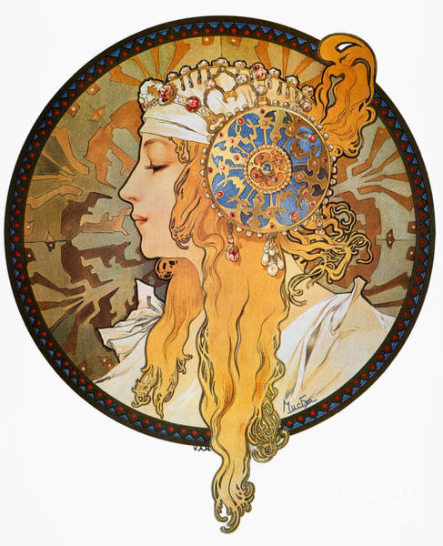 Photograph - Mucha: Poster, C1900 by Granger