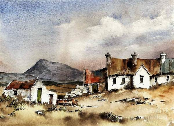 Painting - Muckish From Gortahork, Donegal by Val Byrne