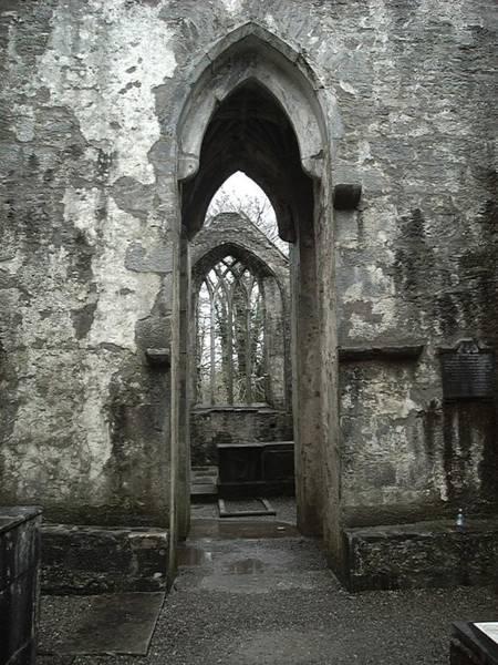 Muckross Abbey Art Print by William Thomas