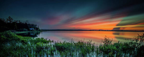 Mud Bay Sunset 4 Art Print