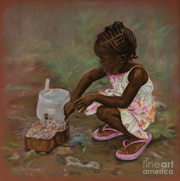 Pastel - Mud Pies by Roshanne Minnis-Eyma
