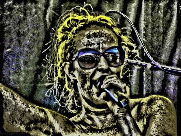 Digital Art - Mud Singer by Vincent Green