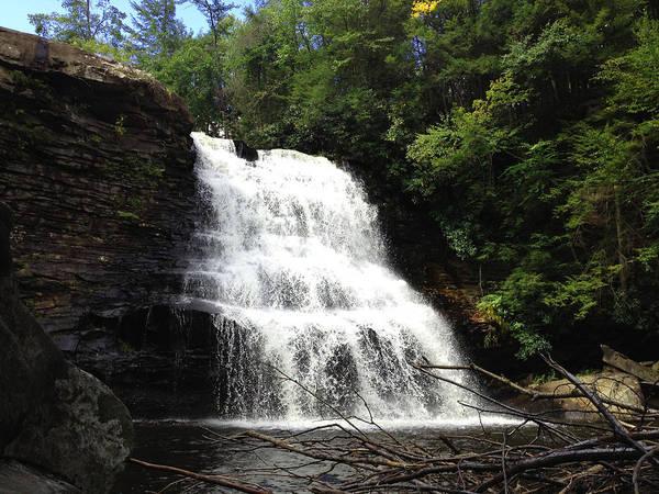Swallow Falls State Park Wall Art - Photograph - Muddy Creek Falls by Peter Duffy