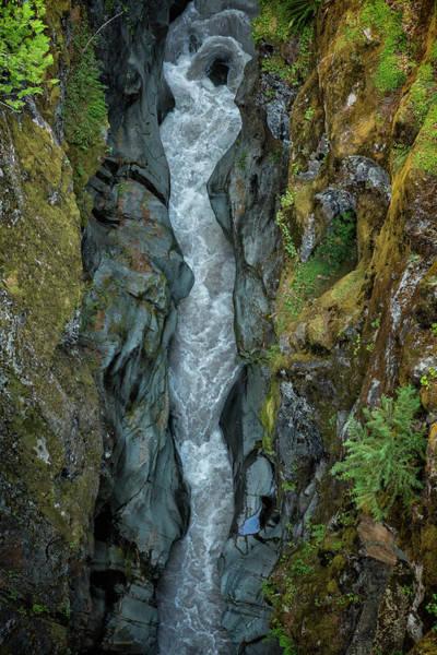 Photograph - Muddy Fork Cowlitz River At Box Canyon by Belinda Greb