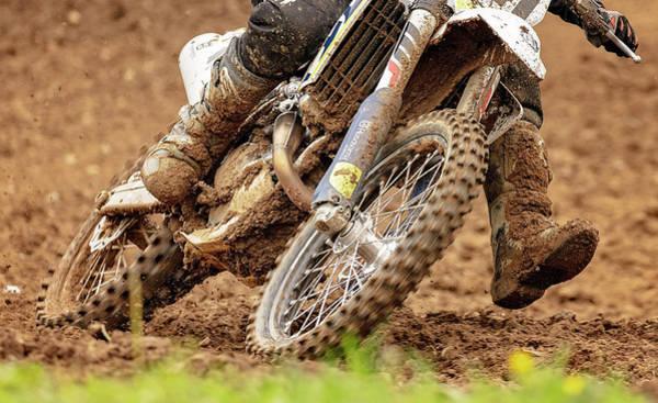 Dirt Bike Photograph - Muddy Run by Pat Eisenberger