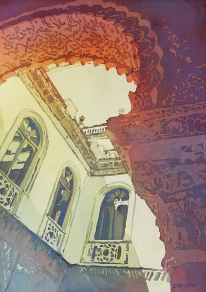 Painting - Mudjar Arch by Jenny Armitage