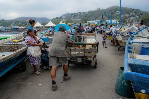 La Libertad Photograph - Muelle Puerto La Libertad Iv by Totto Ponce