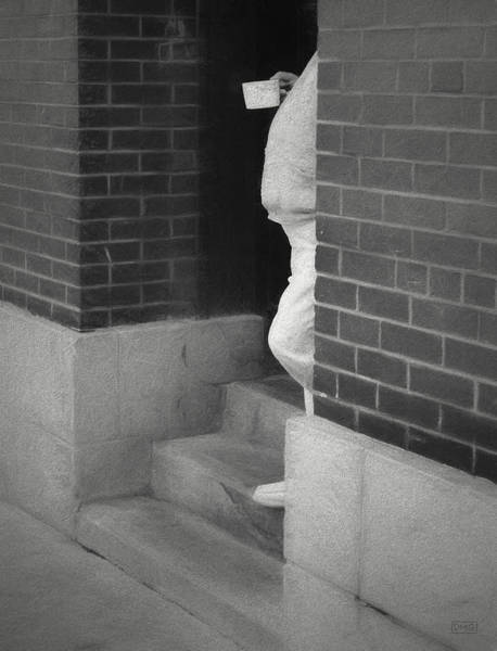 Photograph - Mugshot I Bw by David Gordon